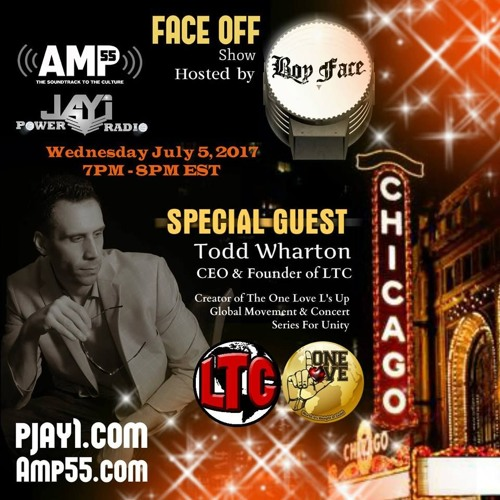 """Boy Face """"FACE OFF"""" show interview w/Todd Wharton of Local Talent Connect (LTC)"""