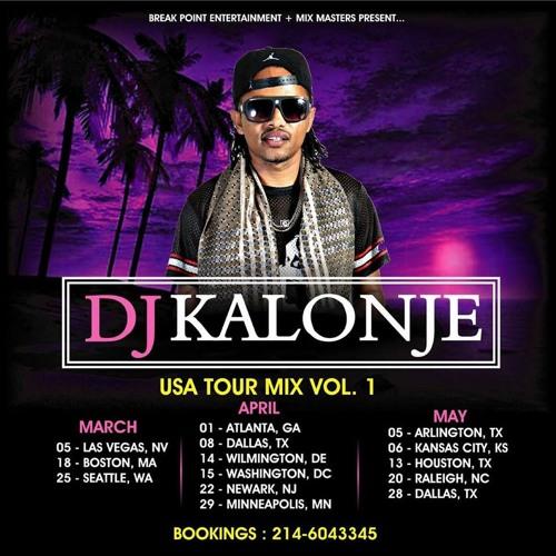 Dj Kalonje Official USA Tour Promo Mixx 2017 by deejay