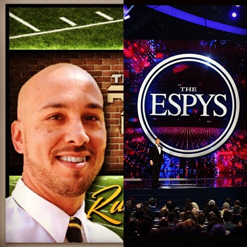 Rudy Reyes live at the Espy's with Malcolm Jenkins [Safety, Philadelphia Eagles] 071217.