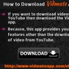 How To Download Vidmate Application On Your IPhone