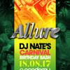 Allure: Fri 18th Aug - DJ Nate Birthday Promo Mix 2017