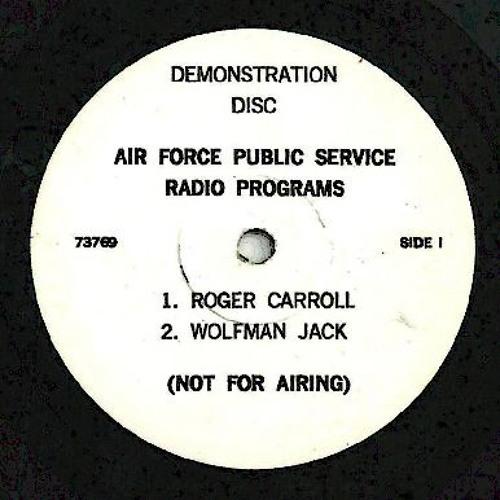 Wolfman Jack - Air Force Public Service Spot