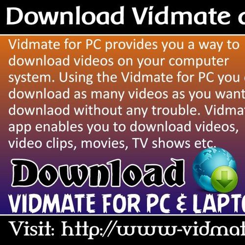 Download Vidmate App For PC & Laptops by Vidmate App | Free