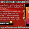 Install Vidmate For Nokia Lumia to Download Videos of YouTube