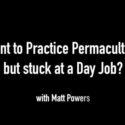 Want to Practice Permaculture But Stuck in a Day Job?