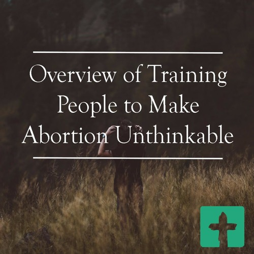 Overview of Training People To Make Abortion Unthinkable