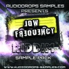 Audiodrops Samples Presents Low Frequency - Riddim Sample Pack