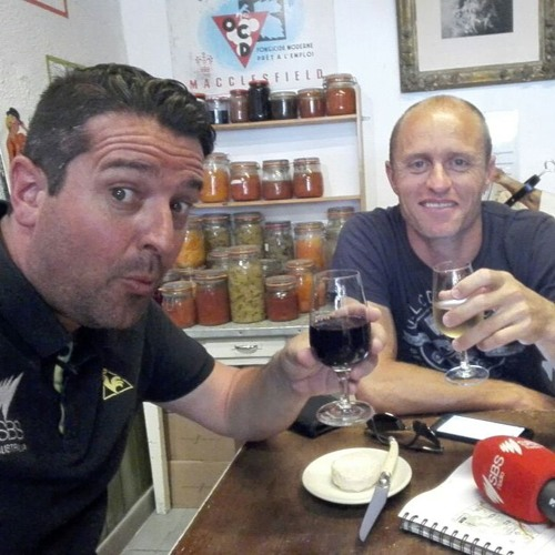 Zwift Tour De France Podcast - Ep 18 - We taste the local wines, ah and we have a race on our hands!
