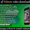 Installation Of Vidmate Video Downloader For iPhone