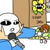 sans and chara rap battle (yandere chan and yandere kun) rap lol