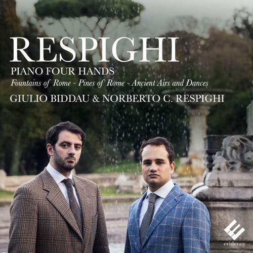 Respighi | Fountains of Rome (arr. for piano 4 hands) | Giulio Biddau, Norberto C. Respighi