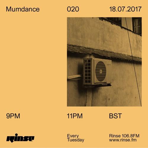Mumdance - 18th July 2017