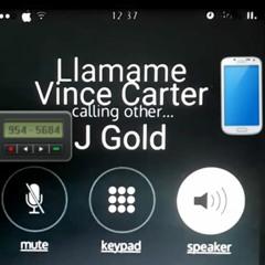 LLÁMAME - VINCE CARTER FT J.GOLD