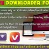 Vidmate Downloader For Mac