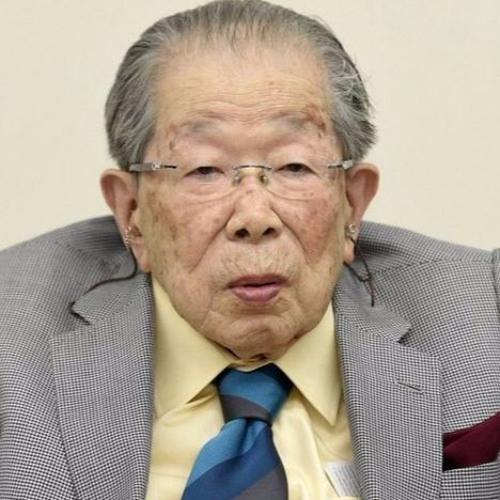 Dr Hinohara encourages me to tell Japan's Story