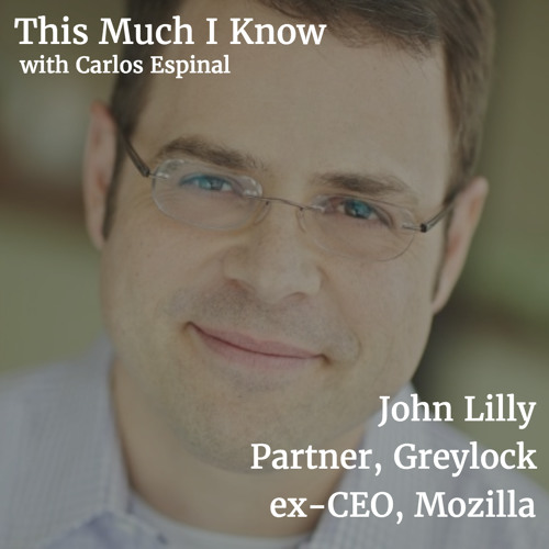 John Lilly, Partner at Greylock, on 'product intentionality' and humility in venture