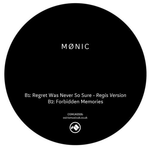 Mønic - Regret Was Never So Sure - incl - Regis Version