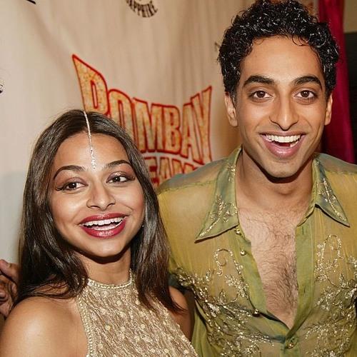 """Manu Narayan & Ayesha Dharker from """"Bombay Dreams"""""""