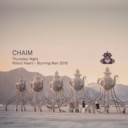 Chaim - Robot Heart - Burning Man 2016