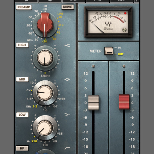 Waves Scheps 73 plugin:  Listen
