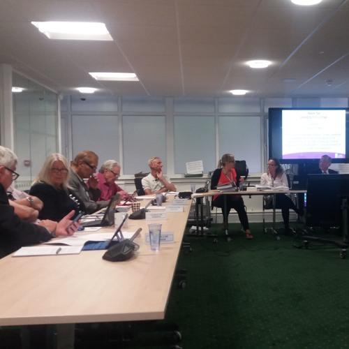Planning Meeting 20th july 2017 - Church Street Cllr Street in Chair