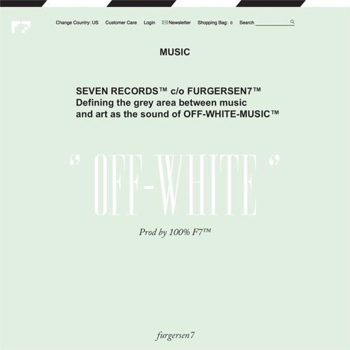 F7 - OFF---WHITE Prod. Furgersen7