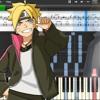 """Boruto : Naruto Next Generation ED 2 ( ボルト) """"Sayonara Moon Town""""[ Piano cover ]"""