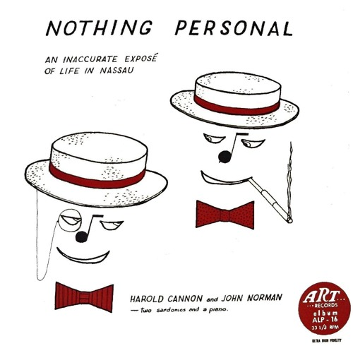 Harold Cannon and John Norman: Nothing Personal