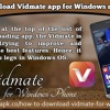 How To Download Vidmate App For Windows Mobile Phone?