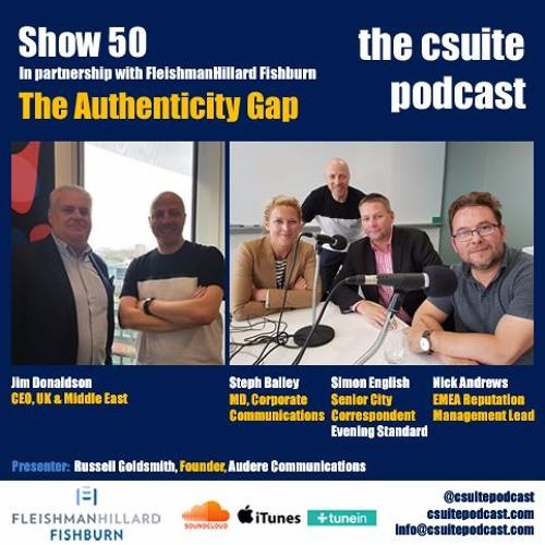 Show 50 - The Authenticity Gap