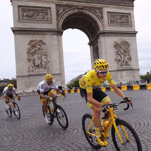 Zwift Tour De France Podcast - Ep 24 Froome in Yellow, Matthews in Green