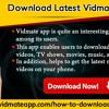 Download Latest Vidmate App