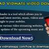 Download Vidmate Video Downloader