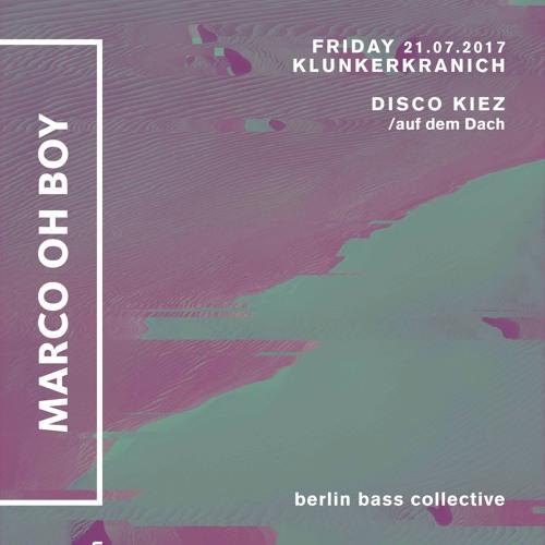 Marco Oh Boy! live at Disco Kiez auf dem Dach (21.07.17) @ Klunkerkranich Berlin
