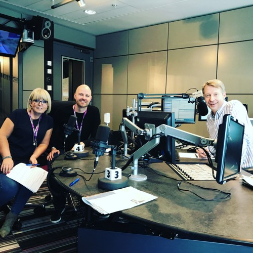 BBC Radio Manchester Interview July 22nd 2017 - Of Shark and Man