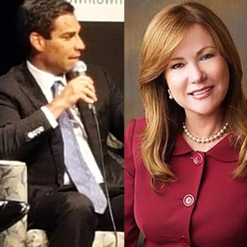 07/24/17 - Florida St. Senate Candidate Ana Rivas Logan & Miami Commissioner Francis Suarez