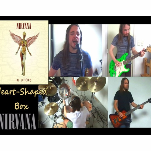 Heart-Shaped Box - NIRVANA  cover, recreation | Multitrack full band recording | all instruments