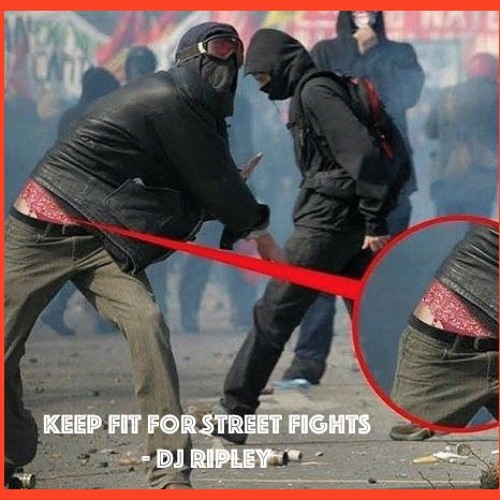 Keep feet fit for street fights!
