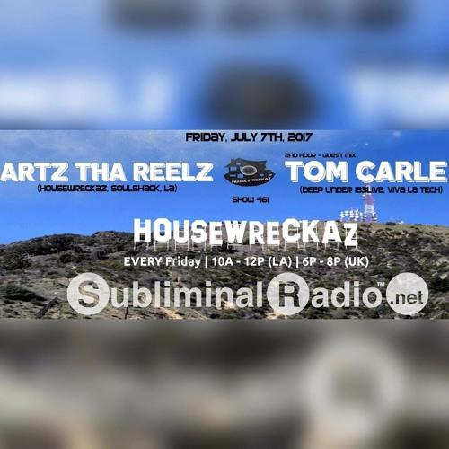 HouseWreckaz on Subliminal Radio // Show 161 // 7 July 2017