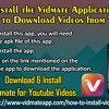 Steps To Install The Vidmate Application On Your IPhone To Download Videos From YouTube?