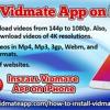Install Vidmate App On IPhone