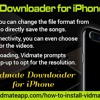 Vidmate Downloader For IPhone Mobiles