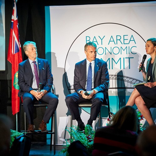 CBC's Kelly Bennett in Conversation with Mayors Fred Eisenberger, Rick Goldring at BAES 2017