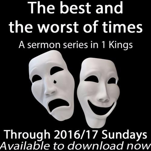 A series in 1 Kings
