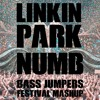 LINKIN PARK - NUMB (BASS JUMPERS FESTIVAL MASHUP)