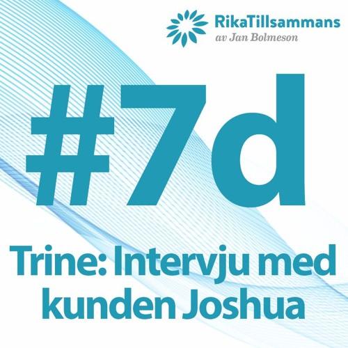 #7d - Trine: intervju med Joshua - en kund som använder solpaneler