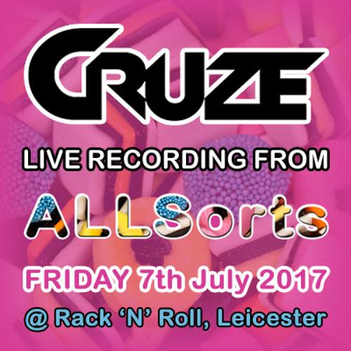 Cruze Live at AllSorts - 7.7.2017 (Trance Set) DOWNLOAD!
