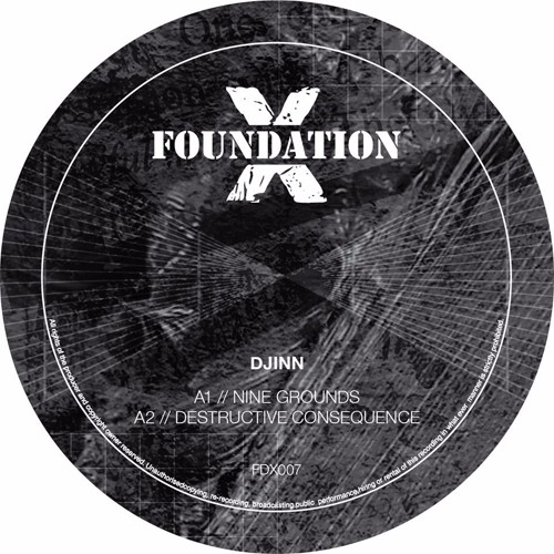 Djinn - Dark Reference EP (Foundation X) - OUT NOW
