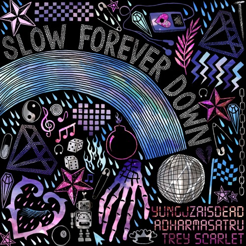 Trey Scarlet (ft. YungJZAisDead & Adharmasatru)- Slow Forever Down