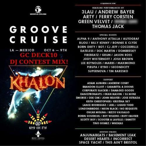 KHALON TECH-HOUSE MIX // GROOVE CRUISE LA 2017 DECK 10 DJ CONTEST